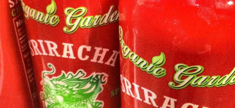 Organic Garden Sriracha Sauce