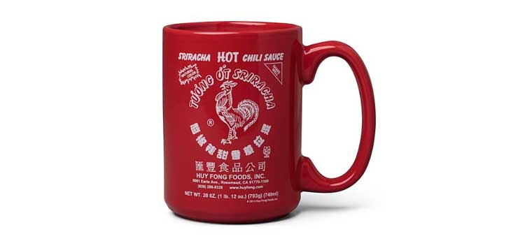 Sriracha coffee mug
