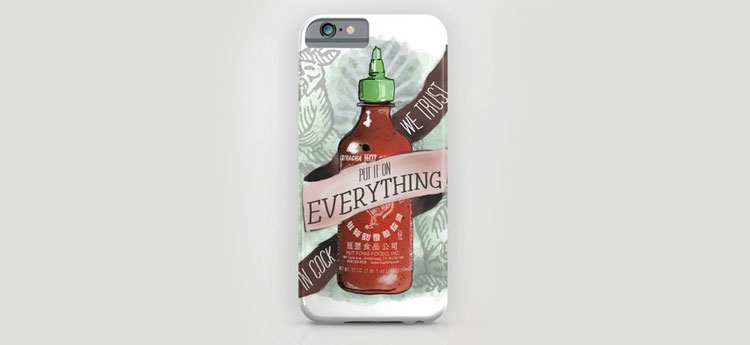 sriracha Iphone Cases
