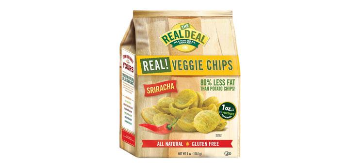 sriracha veggie chips